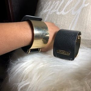 🖤Metal and Leather Cuff Bracelet🖤